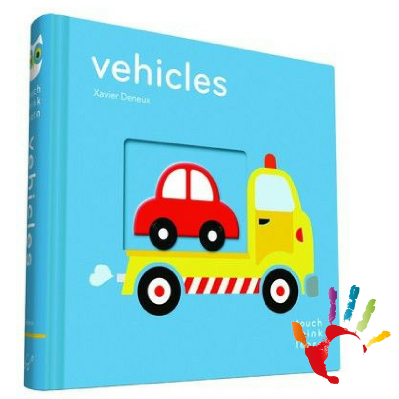 TouchThinkLearn: Vehicles (hmatová kniha)